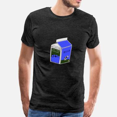 Missing Milk Carton Missing in Scotland Nessy - Men's Premium T-Shirt