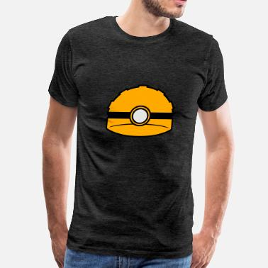 Safety Helmet helmet flashlight safety protection logo pickaxe p - Men's Premium T-Shirt