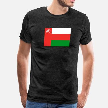 Leads Flag of Oman (om) - Men's Premium T-Shirt
