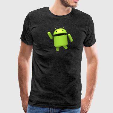 Androids Funny Android Robot - Men's Premium T-Shirt