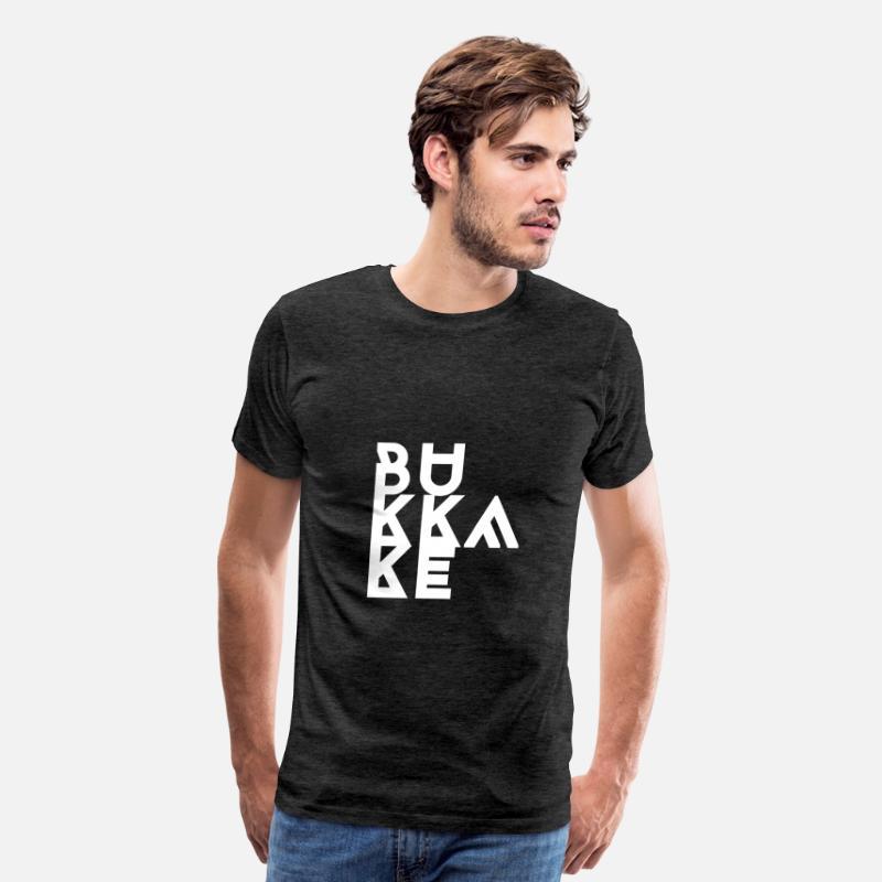 Men's Premium T-ShirtBukkake, Cum, Porn, Cumshot, NSFW