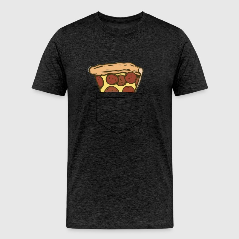 pizza pocket - Men's Premium T-Shirt