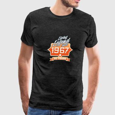 LEGEND BIRTHDAY 1967 - Men's Premium T-Shirt