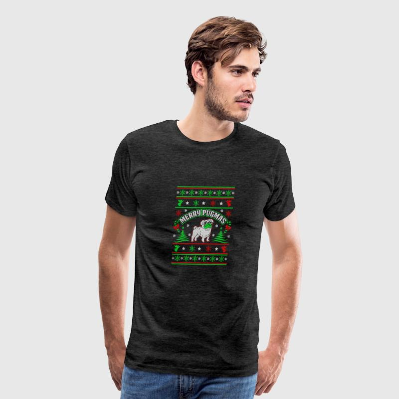 Merry Pugmas Shirt - Men's Premium T-Shirt