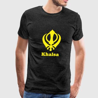 khalsa - Men's Premium T-Shirt