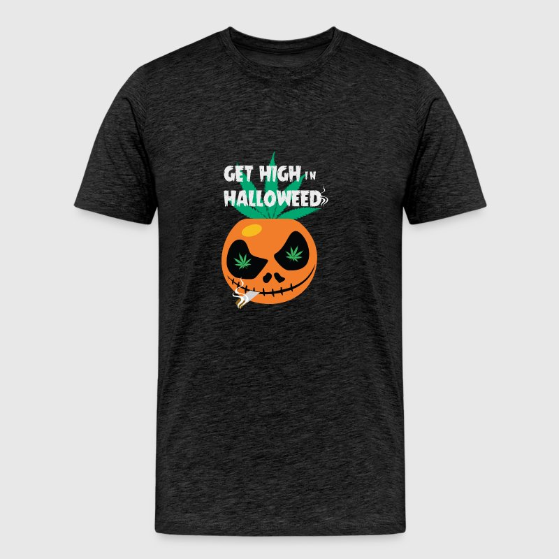Get high in Halloweed t-shirt - Men's Premium T-Shirt