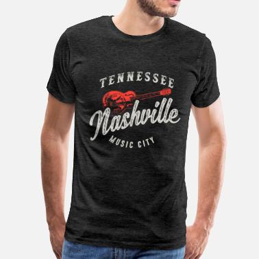 Nashville Nashville Music City - Men's Premium T-Shirt