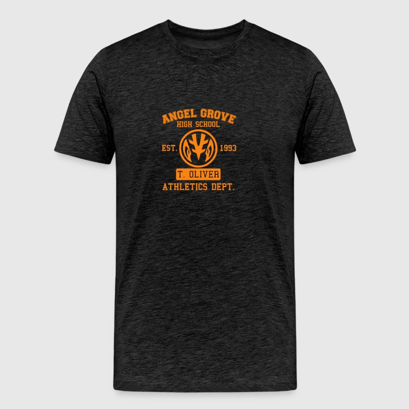 Angel Grove high school - Men's Premium T-Shirt