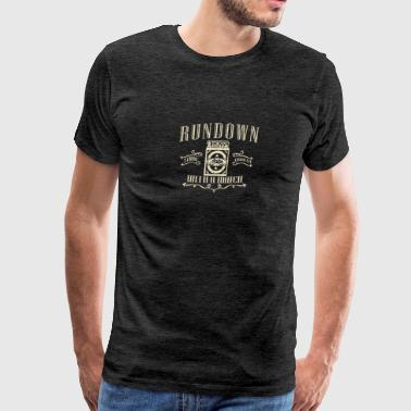 Run down with amatch - Men's Premium T-Shirt