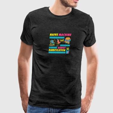 Naive Machine Robot Ramification - Men's Premium T-Shirt