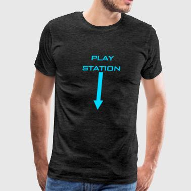 Play Station Red Arrow - Men's Premium T-Shirt