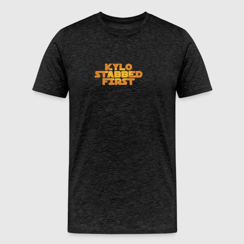 Kylo Stabbed First - Men's Premium T-Shirt