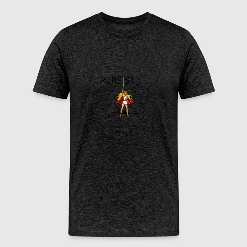 SHE RA says PERSIST - Men's Premium T-Shirt