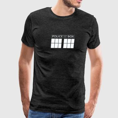 Police Box For Who - Men's Premium T-Shirt