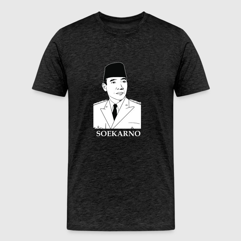 Soekarno - Men's Premium T-Shirt