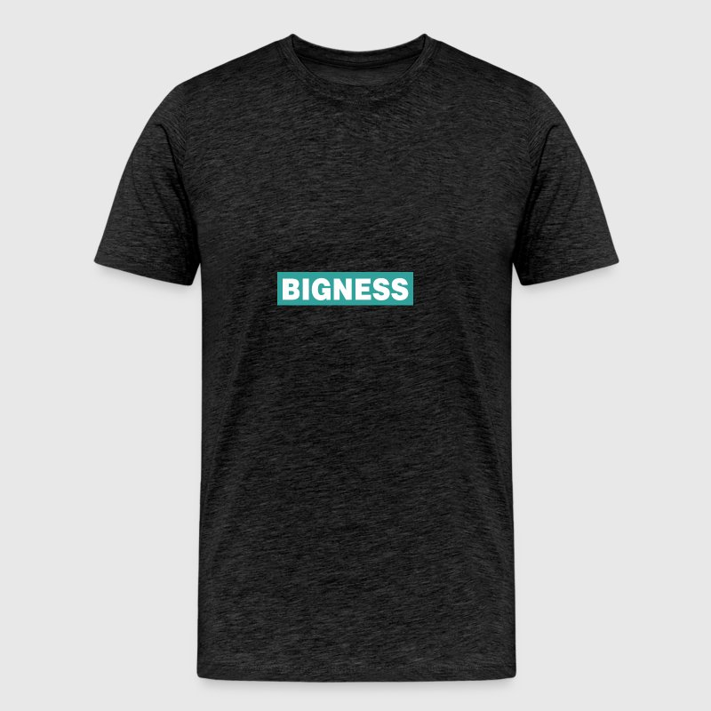 BIGNESS Turquoise - Men's Premium T-Shirt
