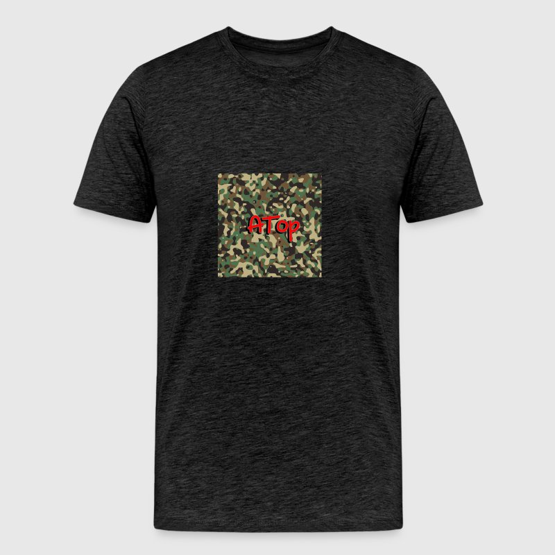 ATop Brand (Army) Color Way - Men's Premium T-Shirt