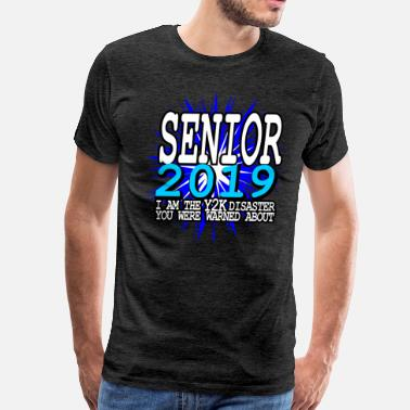 2019 Senior 2019 Y2K - Men's Premium T-Shirt