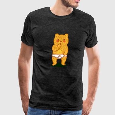 Bare Bear - Men's Premium T-Shirt