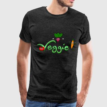 Radishes Be Veggie with Tomato, Carrot and Radish - Men's Premium T-Shirt