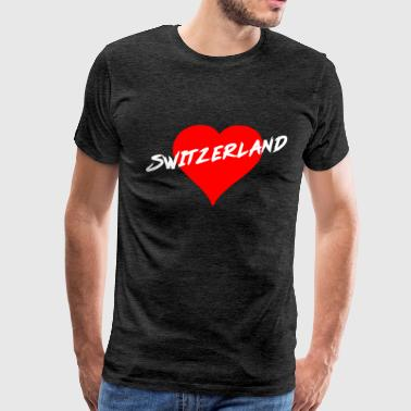 Knife In The Heart Switzerland - Men's Premium T-Shirt