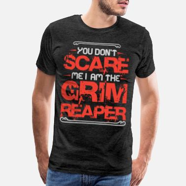 Grim Cool I Am The Grim Reaper for Halloween Lovers - Men's Premium T-Shirt