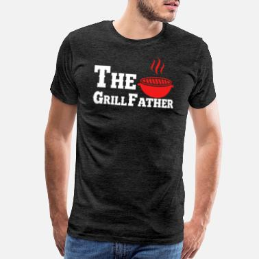 Fry The grill father - Men's Premium T-Shirt