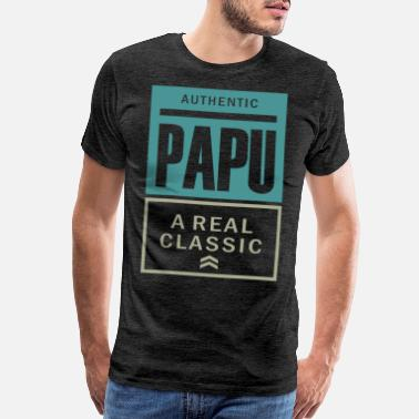 Papu a Real Classic - Men's Premium T-Shirt