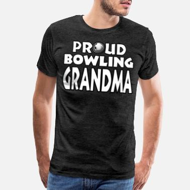 Bowling Shirt Grandma Women - Men's Premium T-Shirt