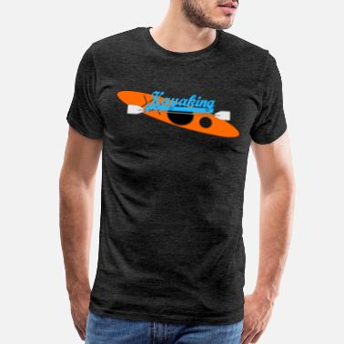 Lake Kayaking Kayaking - Men's Premium T-Shirt