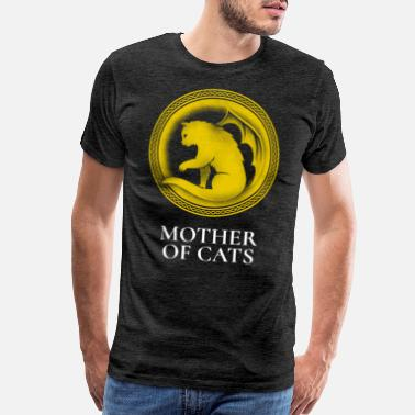 Throne Mother of Cats - Men's Premium T-Shirt