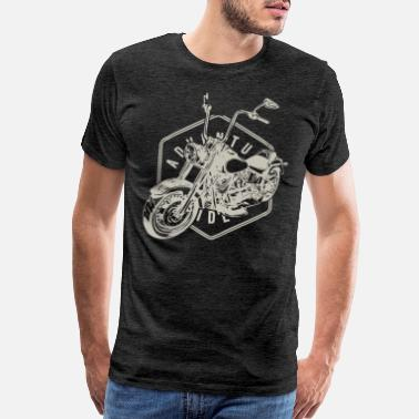 Adventure Bike Riders Adventure Rider Motorrad Biker Geschenk - Men's Premium T-Shirt