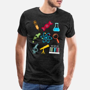 Proton Physik DNA Element Atom E=mc² Science Gift - Men's Premium T-Shirt
