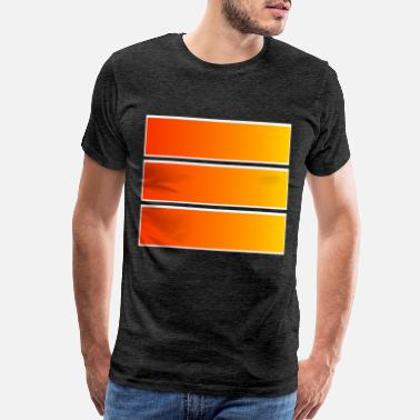 Beam simple geometric motif - Men's Premium T-Shirt