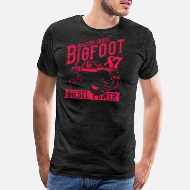The Mood Monster Truck Big Foot - Men's Premium T-Shirt