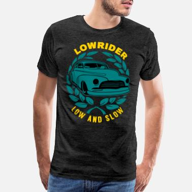 Rear Lowrider Low And Slow Geschenk - Men's Premium T-Shirt