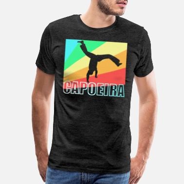 Mixed Martial Ar Capoeira Brazil Martial Art gift - Men's Premium T-Shirt