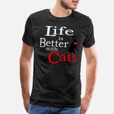 Catbug Cat Life is better with a cats Gift - Men's Premium T-Shirt