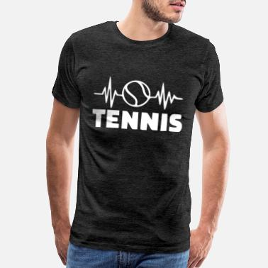 Tennisball tennisball white - Men's Premium T-Shirt