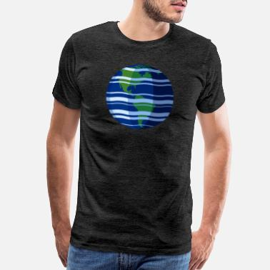 Central America Planet Earth (North/South/Central America) - Men's Premium T-Shirt