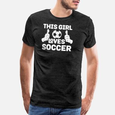 Goalie This Girl Lover Soccer - Men's Premium T-Shirt