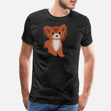 Furry Dogs Dog Chihuahua Small Dog Sweet Best friend - Men's Premium T-Shirt