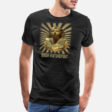 Hieroglyphics Ancient Queen Hatshepsut from Old Pharaonic Egypt - Men's Premium T-Shirt