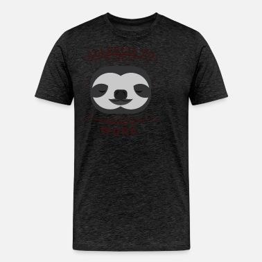 39f46bb5e Funny Sloth Meme Tshirt About Lazy Days Lazy Work Unisex Baseball T ...