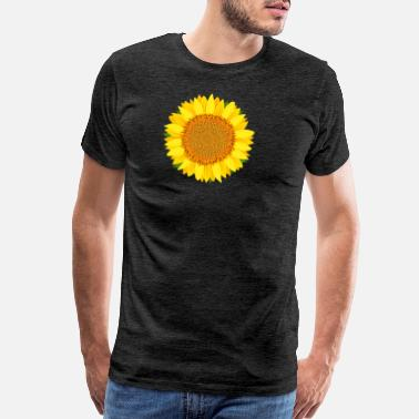 Happy Sunshine Sunflower Bloom, Flower, Sunshine - Men's Premium T-Shirt