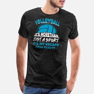 Flap volleyball - Men's Premium T-Shirt