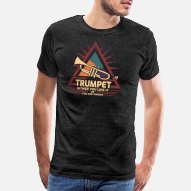 Piccolo trumpet - Men's Premium T-Shirt