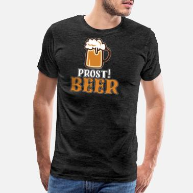 Barrel prost! beer - Men's Premium T-Shirt