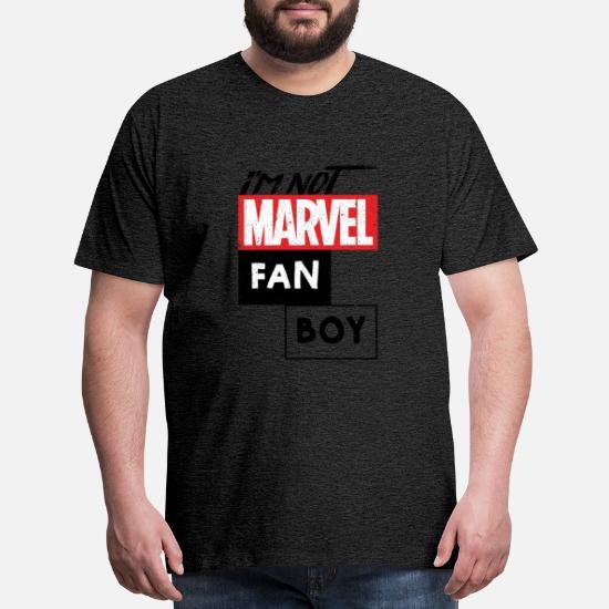 19cfb4fc3d I m not marvel fan boy Men's Premium T-Shirt   Spreadshirt