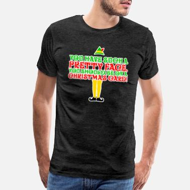 Elf Christmas Gift Idea - Men's Premium T-Shirt